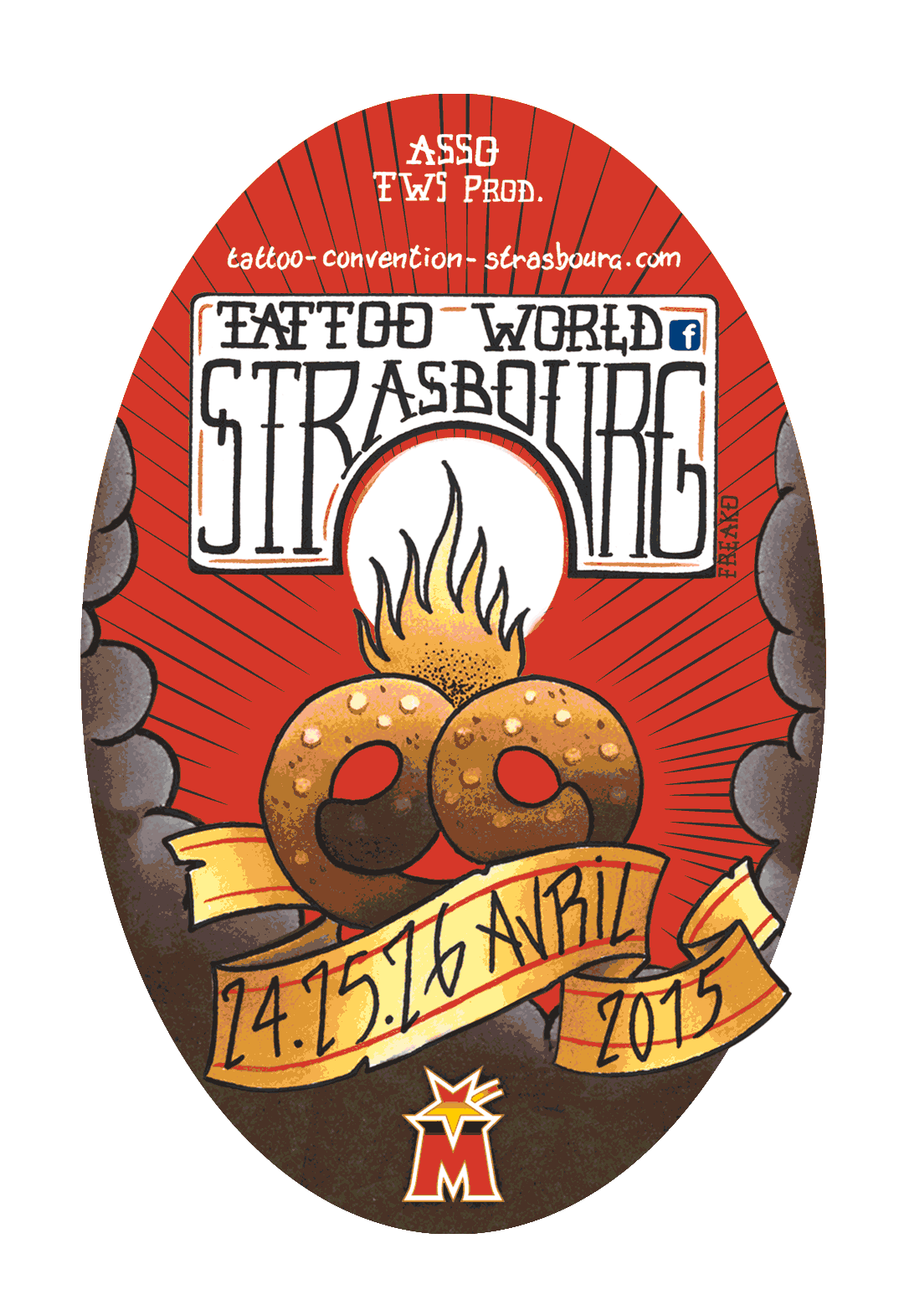 Tattoo Convention Strasbourg - 2015